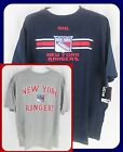 2 NEW YORK RANGERS MAJESTIC T SHIRTS BIG & TALL SIZES