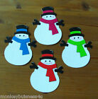 Christmas Die Cuts - Snowman - Kids - Tags