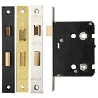 Bathroom Lock Mortice Internal Door Eurospec Latch & Dead Bolt Case Body Easi T