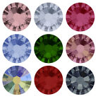 2058 Flat Back SWAROVSKI Foiled Glue Fix * All Sizes * Many Colours * Rhinestone