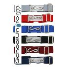 Boys Girls Childrens Plain Colours Stretchy 'S' Snake Belts-School Uniform Wear