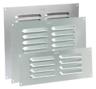 Louvre Air Vent Aluminium Silver Louvered Ventilation Ventilator Grille Cover