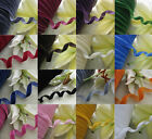 "5/8"" velvet ribbon appliques/craft/sewing DIY U pick from 18 colors 5y"