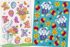 COLLECTION of EASTER STICKERS ~ Scrapbook Reward Party Favors