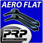 2x Wiper Blade Aero Flat Upgrade Front Windscreen Retro Fit - Select Sizes