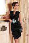New Ladies Womens Vintage Cocktail Party Evening Sexy Classic Prom Dress 8 - 18