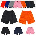 New Athletic Training Running plain Shorts Elastic Waist Sport Pants 7 Colors