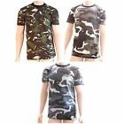 12 x Mens Army Combat Style Short Sleeve T Shirt Top WHOLESALE JOB LOT TRADE