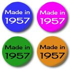 MADE IN...50's Button Badge 1 inch / 25mm 1950-1959 4 Colours Fifties Birthday