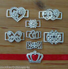 5 Ribbon Buckle Sliders - different Designs - Wedding Invitations/Cards - Gifts