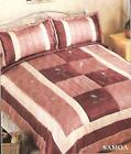 B & M POLYESTER LUXURY QUILTED BEDSPREAD