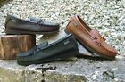 Mens Deertan Genuine Leather Shoes Crepe Soles Whole Sizes 6-13 Made in USA