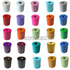 """5 TULLE Rolls Spool 6""""x100yd Tutu Wedding Gift Craft Party Bow 6""""x300'Colours"""
