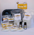 Soap Making Kit various fragrances claranol transparent melt and pour soap base