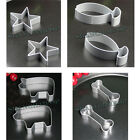 2 X Biscuit Cutter Pig Fish Bone Star Cookie Shape Chocolate Baking Mould Pastry