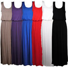 LADIES TOGA MAXI VEST DRESS WOMENS DRESS SIZE 8-14 10 COLOURS