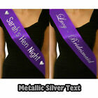 PERSONALISED BIRTHDAY 13TH 16TH 18TH 21ST 30TH 40TH 50TH PARTY SASH PRESENT GIFT