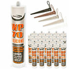 25 x  WP70 Builders Silicone Sealant