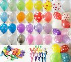 WEDDING BALLOONS 12 INCH PEARLISED LATEX HELIUM BALLOONS 5, 10, 25, 50 or 100s