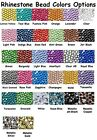 1000 Rhinestone Crystal Flat Back Acrylic Faceted 1mm 2mm 3mm 4mm 5mm 7mm 11mm