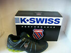 MENS K.SWISS TRAINERS STYLE NAME CLEAR TUBES COLOUR BLACK/SILVER/ BRT GREEN