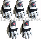 5 Cabretta Leather Golf Gloves V Logo 4 Small Medium M/L Large Extra Large XL