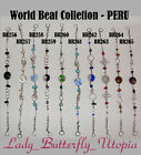 World Beat Collection Various Colors/Style Alpaca Silver Bracelets, Set1