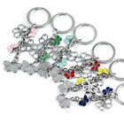 Creative Fashion Butterfly Keychain Key Ring Chain Key Fob Multi-Color Choice