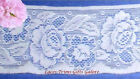 """7+ Yds Lace Trim White 2-3/4"""" Stretch Soft Floral O69V Buy More-Ship No Charge"""
