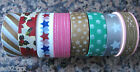 Japanese Washi Masking Craft Deco Tape 1.5cm 10m Choice of 8 Designs