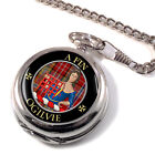 Ogilvie Scottish Clan Pocket Watch