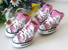 USA SELLER Dog Puppy Boots Sneakers SETof 4 Shoes Pink for Small Dog sz #1 -#5