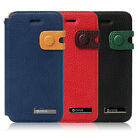 ★New Zenus Masstige Color Edge Diary Wallet Cover Case for Apple iPhone 5 + RR