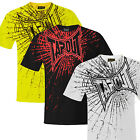 Mens Tapout T Shirt Break On Through UFC MMA Cage Fighter Tee New Superb