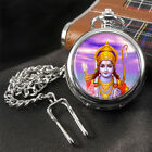 Rama Hindu God Pocket Watch