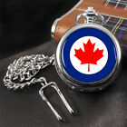 Royal Canadian Air Force RCAF Roundel Pocket Watch