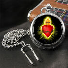Sacred Heart Pocket Watch
