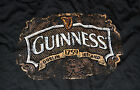 Guinness Distressed Foil BLACK Adult T-shirt