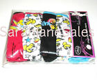 Girls 5 Pack Bright Hipster Disney Tinkerbell Fairies Knickers Pants 7-14 Years
