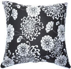AF47a Chinese Style Aster Cotton Canvas Cushion Cover/Pillow Case *Custom Size*
