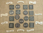 East Of India Shabby Chic Wooden Fridge Magnets Friends Birthday Xmas Gift
