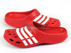 Adidas Duramo Clog College Red/White Lightweight Slippers Shower Douche G62580