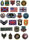 Iron-On Patch Brand New Military Army Flags Sergeants Marines Air Command Star
