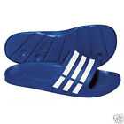 MENS ADIDAS DURAMO SLIDE FLIP FLOPS/SANDALS POOL/BEACH SHOES TRU BLUE SIZES:6-18