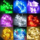 9-Mode 10M 100 LED Wedding Party Christmas Fairy String LED light Choose Color