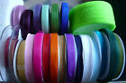10mm  x 25 metre & 25yds Organza Sheer Ribbon.Ideal for Bomboniere/Cards/Favours