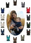 MANDUCA my baby carrier Bauchtrage ALLE FARBEN NewStyle BlackLine PureCotton