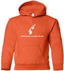 Groningen Eelde Airport Retro Logo Dutch Airport Hooded Sweatshirt HOODY