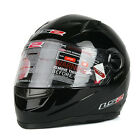 MOTORCYCLE HELMETS LS2 FF358 FULL FACE SOLID BLACK S~XL