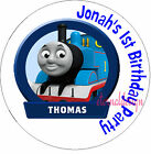 PERSONALISED BIRTHDAY THOMAS TANK STICKERS SEALS GIFTS FAVOURS INVITES KIDCS11